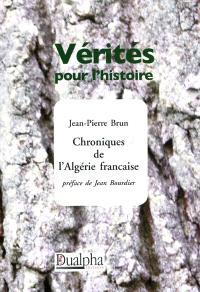 Chroniques de l'Algérie française