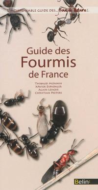Guide des fourmis de France