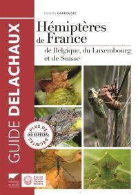 Hémiptères de France, de Belgique, du Luxembourg et de Suisse : plus de 80 espèces décrites