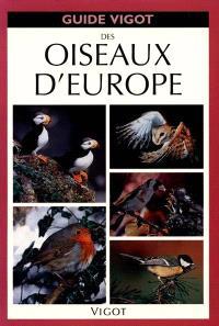 Guide Vigot des oiseaux d'Europe