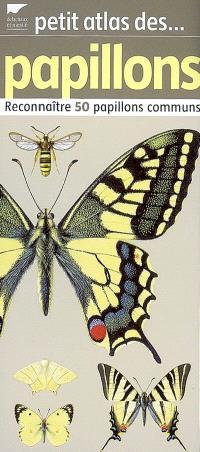 Petit atlas des papillons : reconnaître 50 papillons communs
