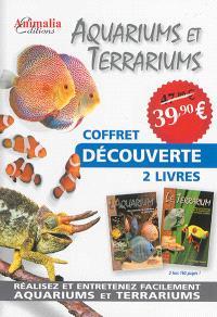 Aquariums et terrariums : coffret découverte 2 livres