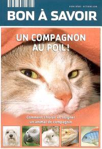 Bon à savoir, hors série, Un compagnon au poil ! : comment choisir et soigner un animal de compagnie
