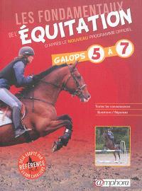 Les fondamentaux de l'équitation : d'après le nouveau programme officiel : galops 5 à 7