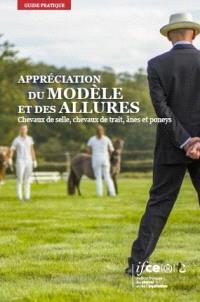 Appréciation du modèle et des allures : chevaux de selle, chevaux de trait, ânes et poneys