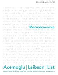 Macroéconomie : Manuel + Édition en ligne + MonLab xL - ÉTUDIANT (6 mois)