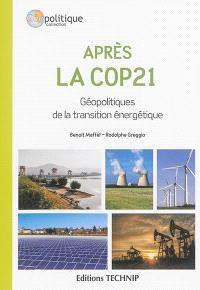 Après la Cop 21 : géopolitique de la transition énergétique