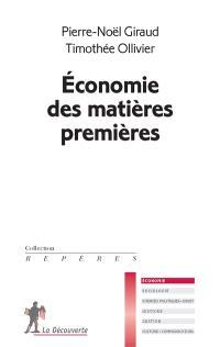 Economie des matières premières