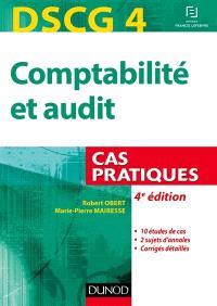 Comptabilité et audit, DSCG 4 : cas pratiques