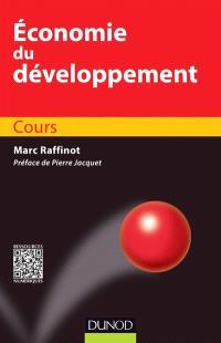Economie du développement : cours