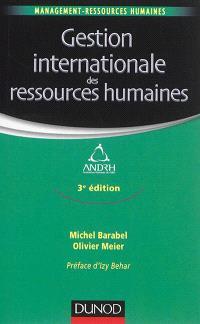 La gestion internationale des ressources humaines