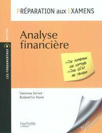 Analyse financière : préparation aux examens