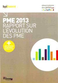 PME 2013 : rapport sur l'évolution des PME