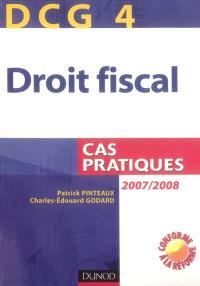 DCG 4, droit fiscal : cas pratiques