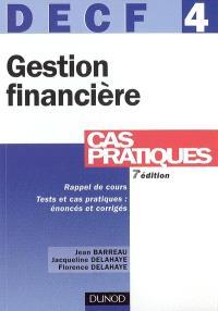 DECF 4 : gestion financière
