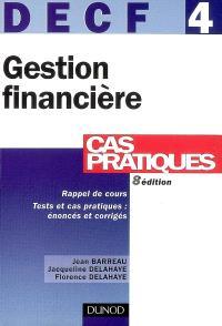 DECF 4, gestion financière