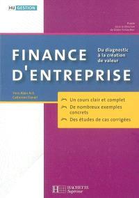 Finance d'entreprise : du diagnostic à la création de valeur