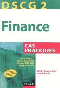 Finance, DSCG 2 : cas pratiques