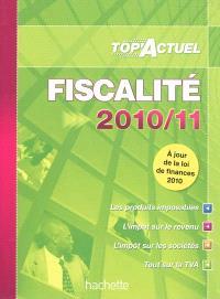 Fiscalité : 2010-11