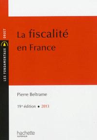 La fiscalité en France : 2013