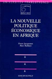 La nouvelle politique économique en Afrique