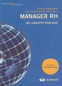 Manager RH : des concepts pour agir