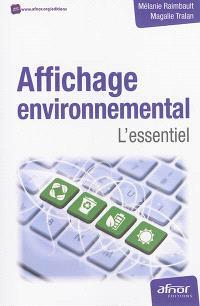 Affichage environnemental : l'essentiel
