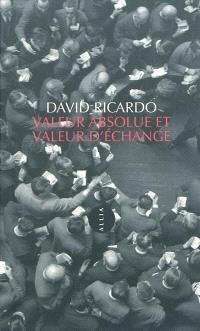 Valeur absolue et valeur d'échange