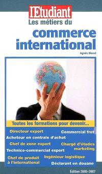 Les métiers du commerce international