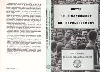 Dette ou financement du développement : actes