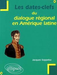 Les dates-clefs du dialogue régional en Amérique latine