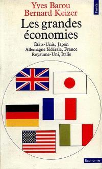 Les Grandes économies : Etats-Unis, Japon, Allemagne fédérale, France, Royaume-Uni, Italie