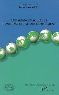 Les sciences sociales confrontées au développement