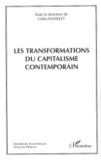 Les transformations du capitalisme contemporain