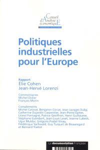 Politiques industrielles pour l'Europe