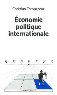 Economie politique internationale