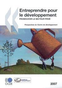 Entreprendre pour le développement : promouvoir le secteur privé