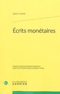 Ecrits monétaires