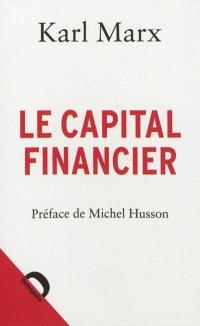 Le capital financier