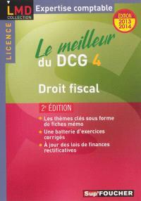 Le meilleur du DCG 4 : droit fiscal