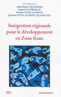 Intégration régionale pour le développement en zone franc