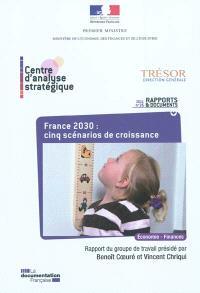 France 2030 : cinq scénarios de croissance