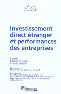 Investissement direct étranger et performances des entreprises : rapport