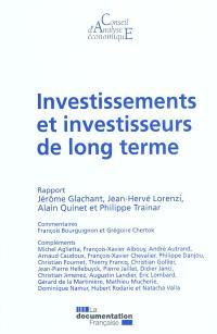 Investissements et investisseurs de long terme : rapport