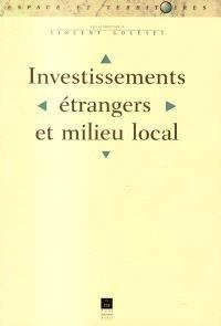 Investissements étrangers et milieu local
