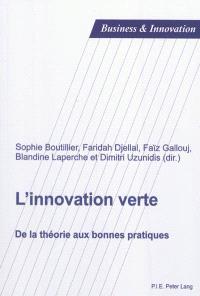 L'innovation verte : de la théorie aux bonnes pratiques
