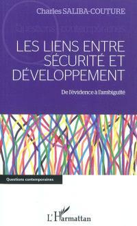 Les liens entre sécurité et développement : de l'évidence à l'ambiguïté