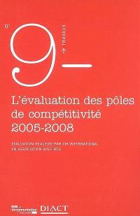 Evaluation des pôles de compétitivité : bilan de la 1e phase 2005-2008