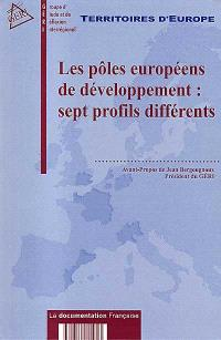 Les pôles européens de développement : sept profils différents