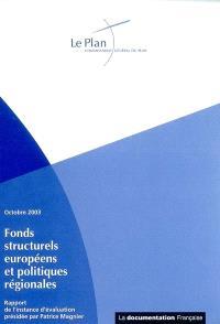 Rapport de l'instance d'évaluation sur les fonds structurels européens et les politiques régionales